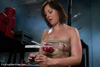 Photo number 2 from AMATEUR GIRL FRIDAYS <br> Eadie Sexwick shot for Fucking Machines on Kink.com. Featuring Eadie Sexwick in hardcore BDSM & Fetish porn.