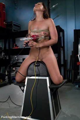 Photo number 4 from AMATEUR GIRL FRIDAYS <br> Eadie Sexwick shot for Fucking Machines on Kink.com. Featuring Eadie Sexwick in hardcore BDSM & Fetish porn.