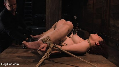 Photo number 10 from Carmen... Anal Whore with a flair shot for Hogtied on Kink.com. Featuring Carmen Stark in hardcore BDSM & Fetish porn.