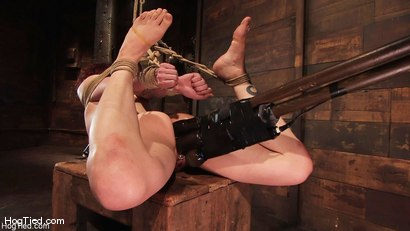 Photo number 14 from Carmen... Anal Whore with a flair shot for Hogtied on Kink.com. Featuring Carmen Stark in hardcore BDSM & Fetish porn.
