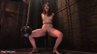 Photo number 12 from Kimberee Cline: Trades pain for pleasure just to Cum! shot for Hogtied on Kink.com. Featuring Kimberlee Cline in hardcore BDSM & Fetish porn.