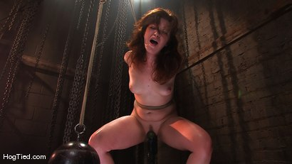 Photo number 14 from Kimberee Cline: Trades pain for pleasure just to Cum! shot for Hogtied on Kink.com. Featuring Kimberlee Cline in hardcore BDSM & Fetish porn.