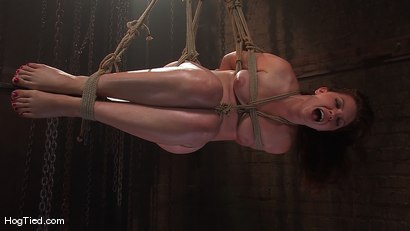 Photo number 9 from Kimberee Cline: Trades pain for pleasure just to Cum! shot for Hogtied on Kink.com. Featuring Kimberlee Cline in hardcore BDSM & Fetish porn.