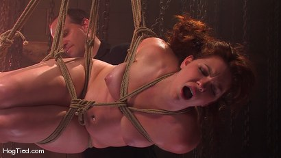 Photo number 10 from Kimberee Cline: Trades pain for pleasure just to Cum! shot for Hogtied on Kink.com. Featuring Kimberlee Cline in hardcore BDSM & Fetish porn.