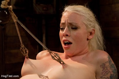 Photo number 4 from FEAR:  The trial & tribulations of Lorelei Lee shot for Hogtied on Kink.com. Featuring Lorelei Lee in hardcore BDSM & Fetish porn.