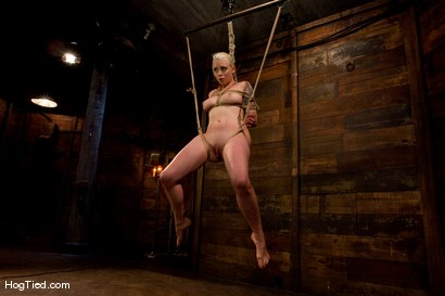 Photo number 12 from FEAR:  The trial & tribulations of Lorelei Lee shot for Hogtied on Kink.com. Featuring Lorelei Lee in hardcore BDSM & Fetish porn.