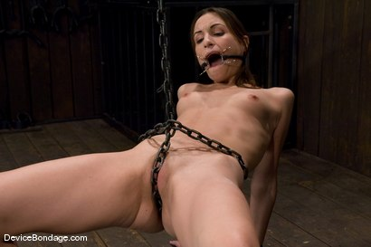 Photo number 7 from Amber Rayne<br>Chained Pussy shot for Device Bondage on Kink.com. Featuring Amber Rayne in hardcore BDSM & Fetish porn.