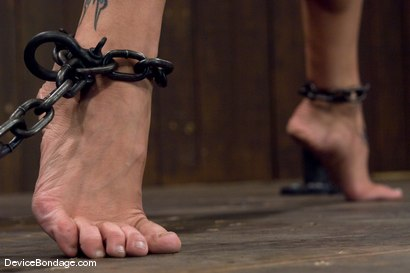Photo number 9 from Amber Rayne   Chained Pussy shot for Device Bondage on Kink.com. Featuring Amber Rayne in hardcore BDSM & Fetish porn.