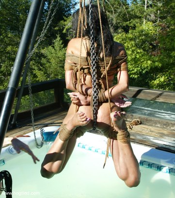 Photo number 14 from Mandy shot for Hogtied on Kink.com. Featuring Mandy in hardcore BDSM & Fetish porn.