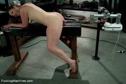Photo number 14 from AMATEUR GIRL FRIDAYS <br> Frankie shot for Fucking Machines on Kink.com. Featuring Frankie in hardcore BDSM & Fetish porn.