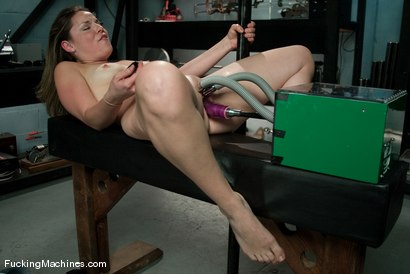 Photo number 4 from AMATEUR GIRL FRIDAYS <br> Frankie shot for Fucking Machines on Kink.com. Featuring Frankie in hardcore BDSM & Fetish porn.