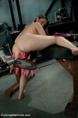 Photo number 8 from AMATEUR GIRL FRIDAYS <br> Frankie shot for Fucking Machines on Kink.com. Featuring Frankie in hardcore BDSM & Fetish porn.