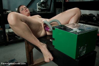 Photo number 2 from AMATEUR GIRL FRIDAYS <br> Frankie shot for Fucking Machines on Kink.com. Featuring Frankie in hardcore BDSM & Fetish porn.