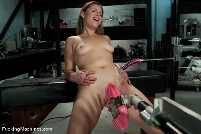 Photo number 11 from AMATEUR GIRL FRIDAYS <br> Frankie shot for Fucking Machines on Kink.com. Featuring Frankie in hardcore BDSM & Fetish porn.
