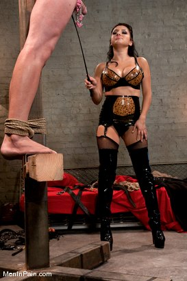 Photo number 12 from Basement Vamp shot for Men In Pain on Kink.com. Featuring Sativa Rose and Nomad in hardcore BDSM & Fetish porn.