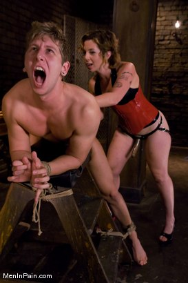 Photo number 6 from Therapy shot for Men In Pain on Kink.com. Featuring Danny Wylde and Tina Horn in hardcore BDSM & Fetish porn.