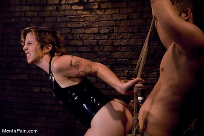 Photo number 9 from Therapy shot for Men In Pain on Kink.com. Featuring Danny Wylde and Tina Horn in hardcore BDSM & Fetish porn.