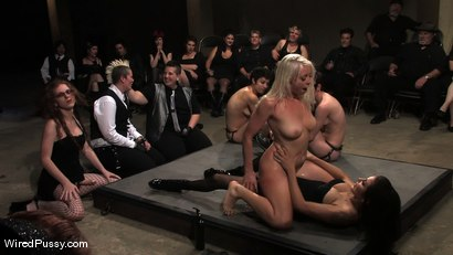 Photo number 10 from WiredPussy LIVE IN THE ARMORY shot for Wired Pussy on Kink.com. Featuring Lorelei Lee and Princess Donna Dolore in hardcore BDSM & Fetish porn.