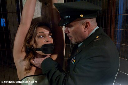 Photo number 2 from Interrogation of Ten shot for Sex And Submission on Kink.com. Featuring Mark Davis and Ten in hardcore BDSM & Fetish porn.