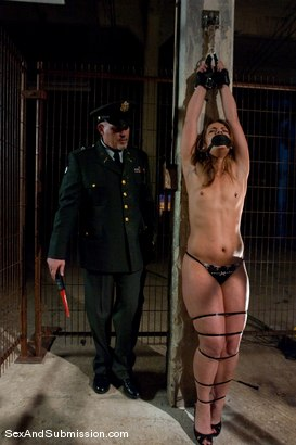 Photo number 3 from Interrogation of Ten shot for Sex And Submission on Kink.com. Featuring Mark Davis and Ten in hardcore BDSM & Fetish porn.