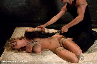 Photo number 8 from Krissy Lynn shot for Sex And Submission on Kink.com. Featuring Mr. Pete and Krissy Lynn in hardcore BDSM & Fetish porn.
