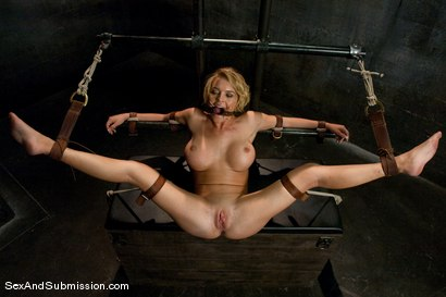 Photo number 11 from Krissy Lynn shot for Sex And Submission on Kink.com. Featuring Mr. Pete and Krissy Lynn in hardcore BDSM & Fetish porn.