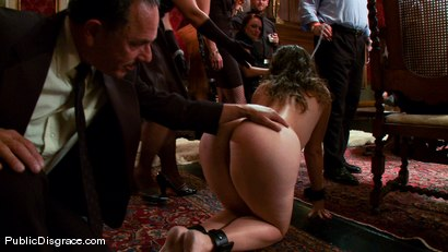 Photo number 1 from The Party Hole shot for Public Disgrace on Kink.com. Featuring Mark Davis and Charlotte Vale in hardcore BDSM & Fetish porn.