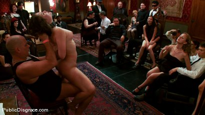 Photo number 12 from The Party Hole shot for Public Disgrace on Kink.com. Featuring Mark Davis and Charlotte Vale in hardcore BDSM & Fetish porn.