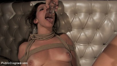 Photo number 13 from Bobbi Starr returns to Public Disgrace shot for Public Disgrace on Kink.com. Featuring Bobbi Starr and Erik Everhard in hardcore BDSM & Fetish porn.