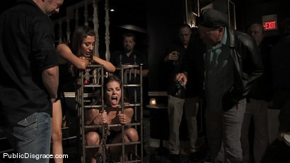 Photo number 1 from Bobbi Starr returns to Public Disgrace shot for Public Disgrace on Kink.com. Featuring Bobbi Starr and Erik Everhard in hardcore BDSM & Fetish porn.