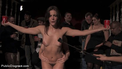 Photo number 6 from Bobbi Starr returns to Public Disgrace shot for Public Disgrace on Kink.com. Featuring Bobbi Starr and Erik Everhard in hardcore BDSM & Fetish porn.