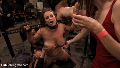 Photo number 11 from Local amateur tries BDSM for the first time ever and is rewarded with 4 hard cocks! shot for Public Disgrace on Kink.com. Featuring Catrina Cummings and Jack Hammer in hardcore BDSM & Fetish porn.