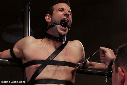 Photo number 7 from Thank you, Sir! shot for Bound Gods on Kink.com. Featuring Dak Ramsey and Jason Miller in hardcore BDSM & Fetish porn.