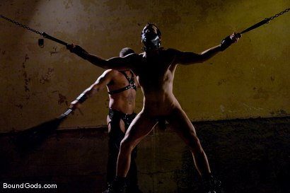 Photo number 1 from Thank you, Sir! shot for Bound Gods on Kink.com. Featuring Dak Ramsey and Jason Miller in hardcore BDSM & Fetish porn.