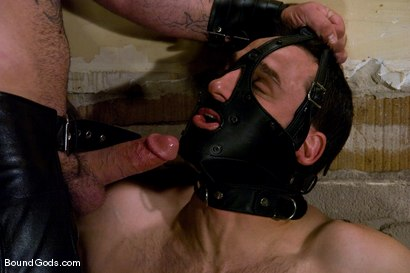 Photo number 5 from Thank you, Sir! shot for Bound Gods on Kink.com. Featuring Dak Ramsey and Jason Miller in hardcore BDSM & Fetish porn.