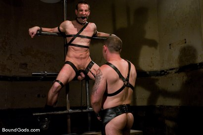 Photo number 9 from Thank you, Sir! shot for Bound Gods on Kink.com. Featuring Dak Ramsey and Jason Miller in hardcore BDSM & Fetish porn.