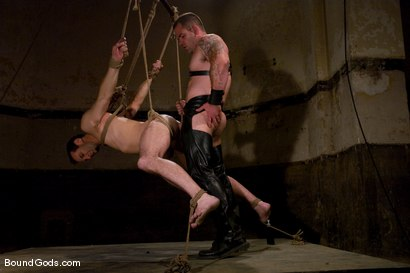 Photo number 13 from Thank you, Sir! shot for Bound Gods on Kink.com. Featuring Dak Ramsey and Jason Miller in hardcore BDSM & Fetish porn.