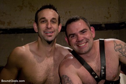 Photo number 15 from Thank you, Sir! shot for Bound Gods on Kink.com. Featuring Dak Ramsey and Jason Miller in hardcore BDSM & Fetish porn.