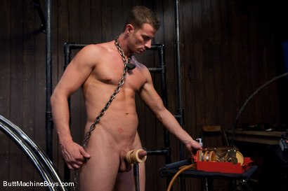 Photo number 4 from The Ass Master and Rusty Stevens shot for Butt Machine Boys on Kink.com. Featuring Rusty Stevens in hardcore BDSM & Fetish porn.