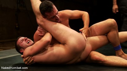 Photo number 11 from Derrek Diamond vs Brandon Monroe shot for Naked Kombat on Kink.com. Featuring Brandon Monroe and Derrek Diamond in hardcore BDSM & Fetish porn.