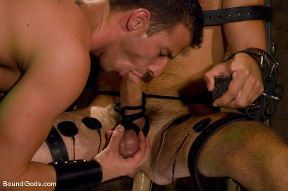 Photo number 7 from Slave Daydreaming shot for Bound Gods on Kink.com. Featuring Brandon Monroe and Rusty Stevens in hardcore BDSM & Fetish porn.