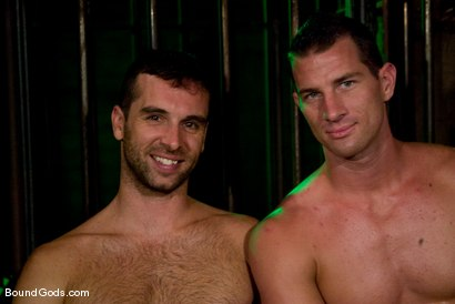 Photo number 15 from Slave Daydreaming shot for Bound Gods on Kink.com. Featuring Brandon Monroe and Rusty Stevens in hardcore BDSM & Fetish porn.