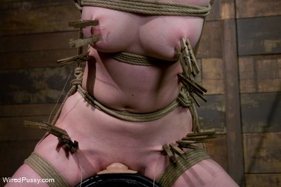 Photo number 6 from Two weeks after turning 18 Ivy fulfills her lifelong fantasy of being tied up and dominated!!! shot for Wired Pussy on Kink.com. Featuring Princess Donna Dolore and Ivy Mokhov in hardcore BDSM & Fetish porn.