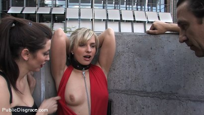 Photo number 5 from BEST OF EUROPE: laughed at and fucked in public shot for Public Disgrace on Kink.com. Featuring Steve Holmes and Kitty in hardcore BDSM & Fetish porn.