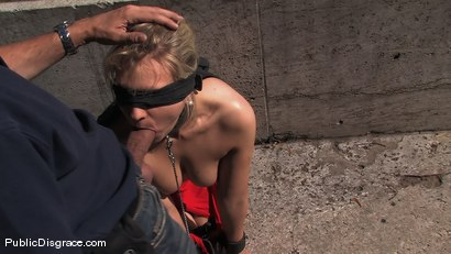 Photo number 7 from BEST OF EUROPE: laughed at and fucked in public shot for Public Disgrace on Kink.com. Featuring Steve Holmes and Kitty in hardcore BDSM & Fetish porn.