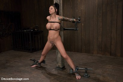 Photo number 1 from Mason Moore   Huge Tits, Huge Orgasms. shot for Device Bondage on Kink.com. Featuring Mason Moore in hardcore BDSM & Fetish porn.