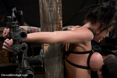 Photo number 11 from Mason Moore<br>Huge Tits, Huge Orgasms. shot for Device Bondage on Kink.com. Featuring Mason Moore in hardcore BDSM & Fetish porn.