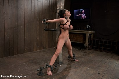 Photo number 13 from Mason Moore<br>Huge Tits, Huge Orgasms. shot for Device Bondage on Kink.com. Featuring Mason Moore in hardcore BDSM & Fetish porn.