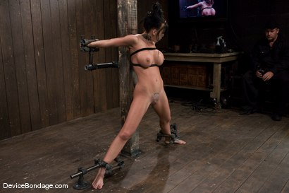 Photo number 4 from Mason Moore   Huge Tits, Huge Orgasms. shot for Device Bondage on Kink.com. Featuring Mason Moore in hardcore BDSM & Fetish porn.