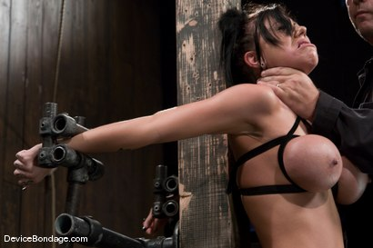 Photo number 12 from Mason Moore<br>Huge Tits, Huge Orgasms. shot for Device Bondage on Kink.com. Featuring Mason Moore in hardcore BDSM & Fetish porn.